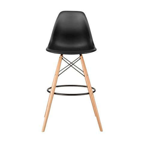 30 Inch Bar Stools Set Of 3 by Set Of 2 Eames Style Dsw Black Plastic 30 Inch Bar Stool