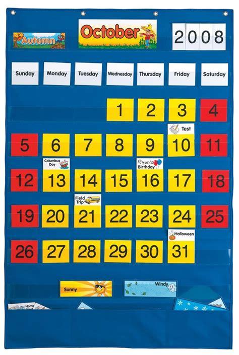 Classroom Calendar Feature Calendar Pocket Chart New Free