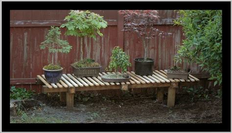 bonsai bench 1000 images about bonsai display outdoors on pinterest