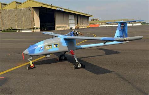 Drone Militer garuda militer si wulung drone buatan ptdi