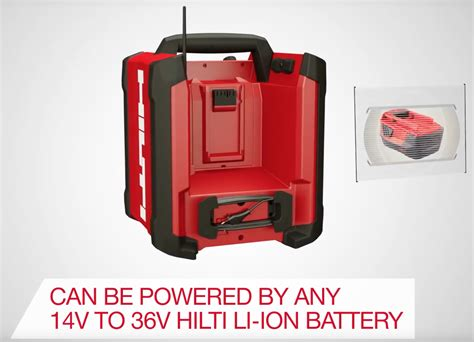 chargers radio hilti radio battery charger rc 4 36 dab brand new fast