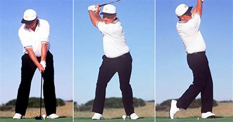 right side golf swing out of position right knee in the golf swing