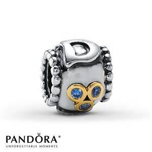 Jared pandora dad charm blue cz sterling silver 14k gold