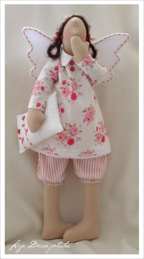 fabric crafts doll liza decor tilda in my house fabric dolls sewing toys