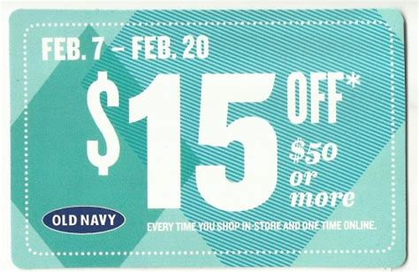 old navy coupons maternity check your mail for 15 off 50 old navy coupon