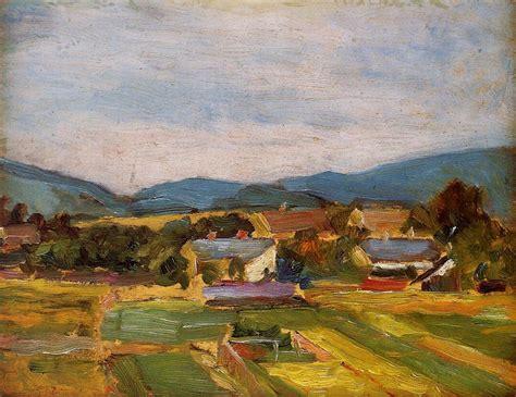 Landscape In Lower Austria Egon Schiele Wikiart Org