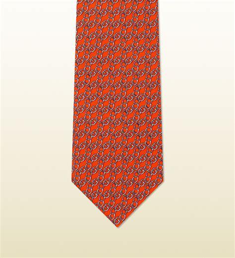 satin twil motif jovet lyst gucci horsebit pattern silk twill tie in for