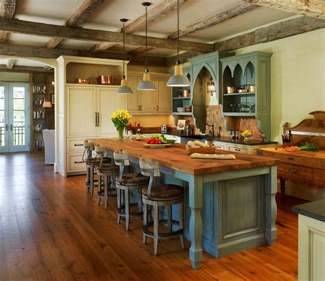 kitchen looks ideas rustic modern kitchen with antique look interior design