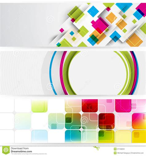teaser advertisement background banners stock images