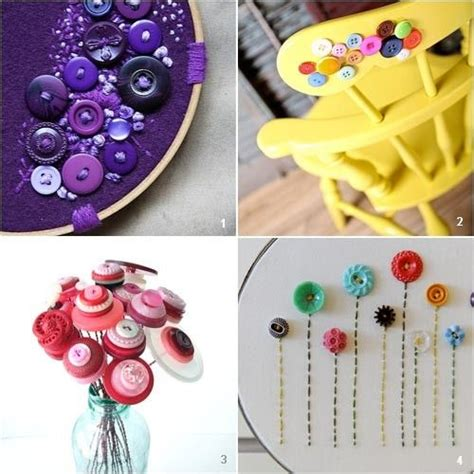 button craft projects button crafts crafty ideas