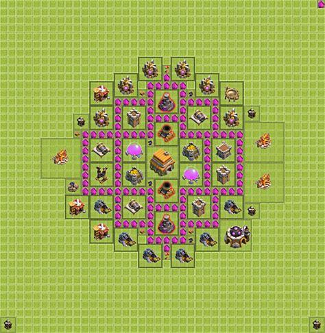 coc layout rh 6 coc rh lvl 6 base