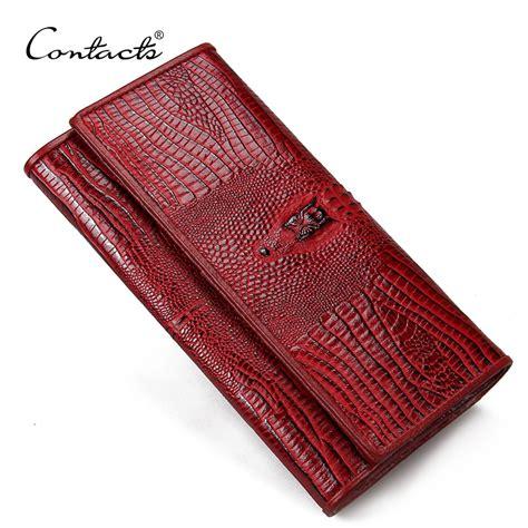 K Wallet guarantee genuine leather wallets purse alligator wallet