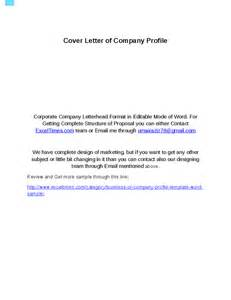company profile template in word format hashdoc