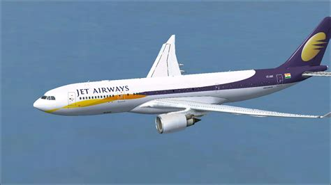 aubry s 1st flight books jet airways airbus a330 200 for fsx