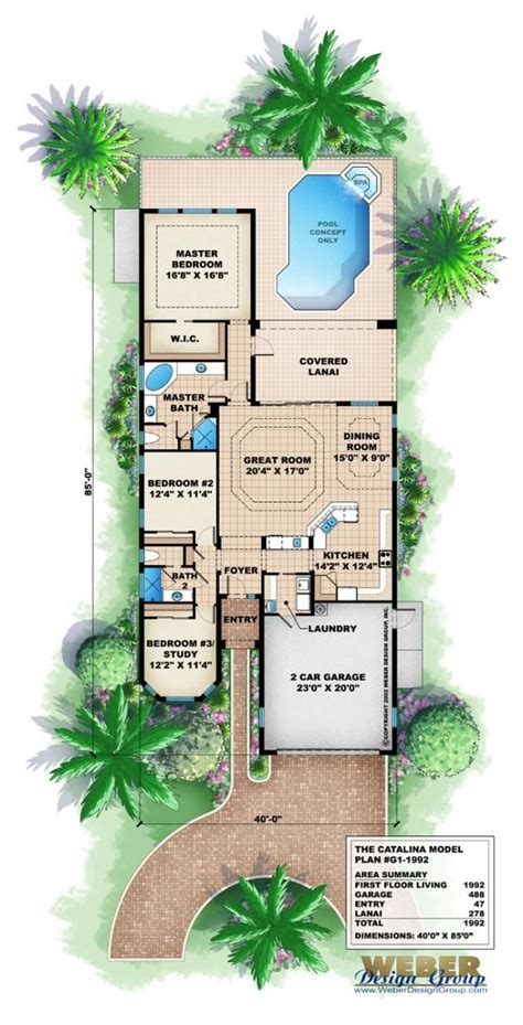 mediterranean home floor plans with pictures 23572