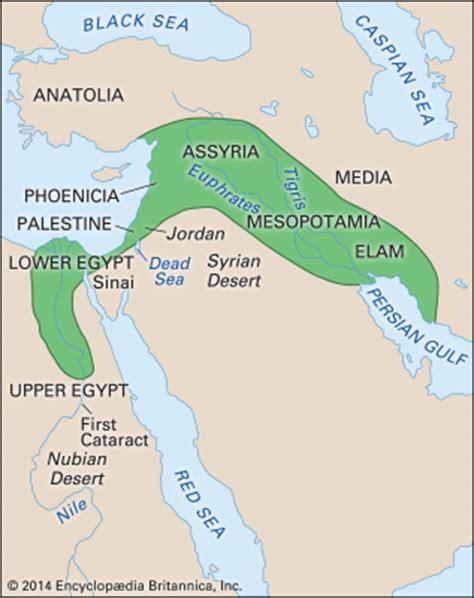 middle east map fertile crescent fertile crescent region middle east britannica