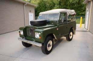 1970 land rover for sale 1970 land rover 2a diesel matching numbers original