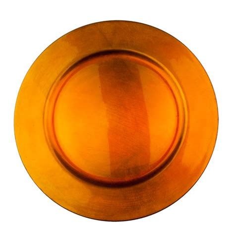orange chargers plates standard orange charger plate 33cm