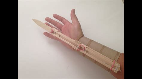 How To Make A Paper Assassin S Creed Blade - how to make an easy assassins creed blade out of