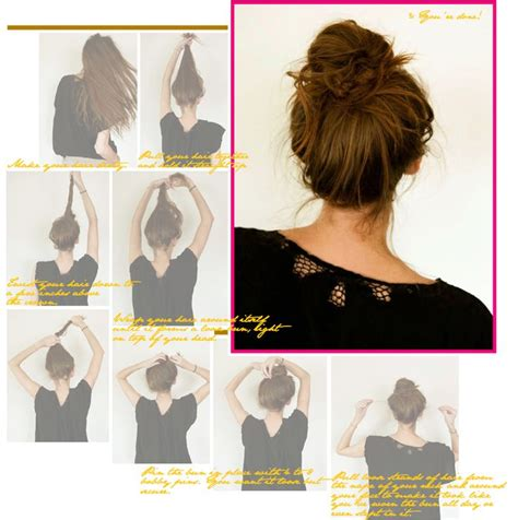 pennies messy bun tutorial 164 best images about hair and beauty on pinterest