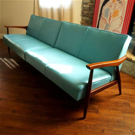 50s vintage modern sectional sofa from aces finds