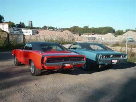 69 challenger vs 69 charger dodge charger 1968 blue 1969 mopar fan
