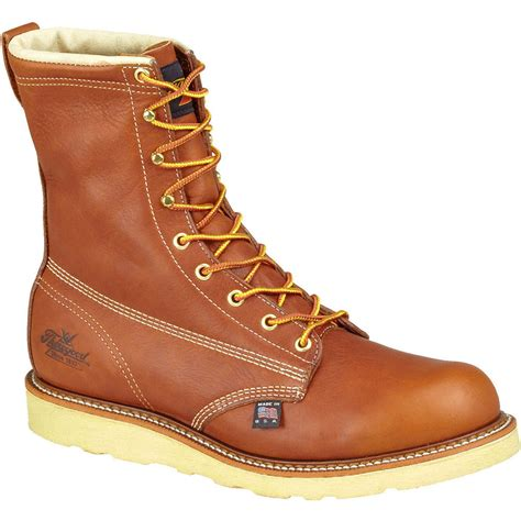 wedge sole work boots thorogood wedge sole american made work boot 804 4364