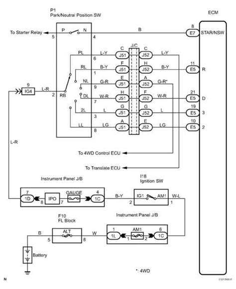 2006 toyota sequoia headlight wiring diagram html auto
