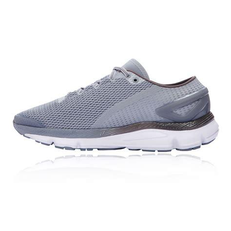 armour sports shoes armour speedform gemini 2 1 mens grey running sports
