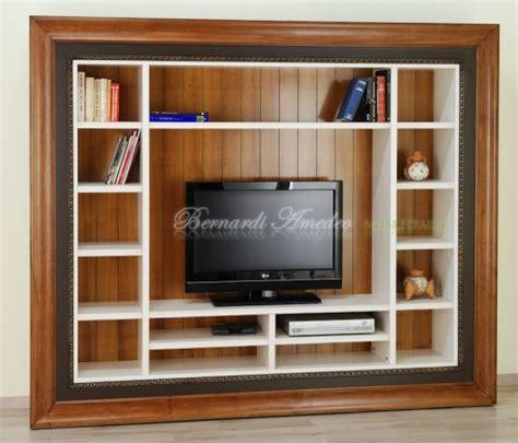 tv con cornice libreria porta tv con cornice ros 224