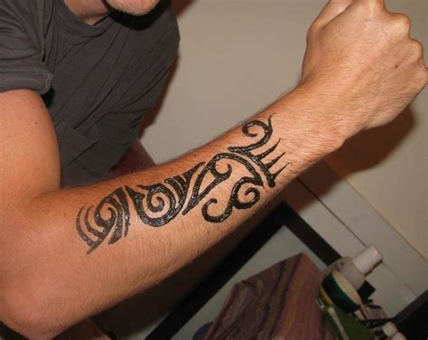 manly henna tattoos 34 best henna tribal tattoos for images on