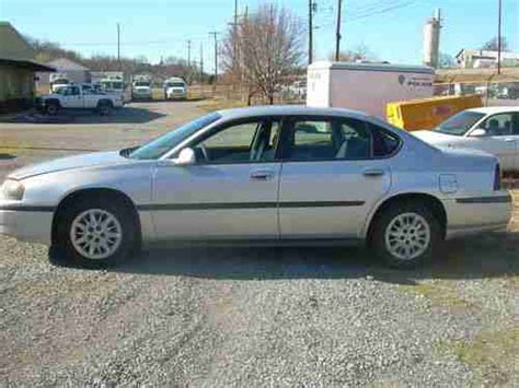 2001 Chevrolet Impala Mpg Sell Used 2001 Chevrolet Impala In Bedford Virginia