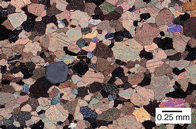 marble thin section marble