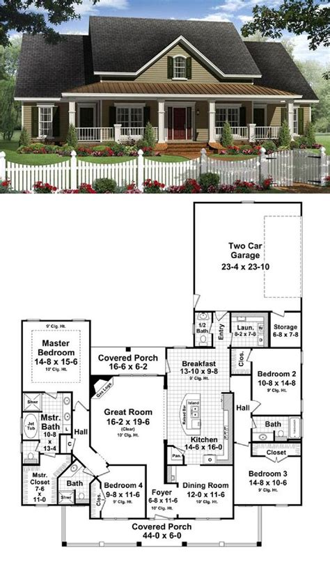 ideas for house plans open floor plan colonial homes house plans pinterest