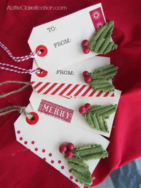 Handmade Holidays - handmade gift tags www imgkid the image
