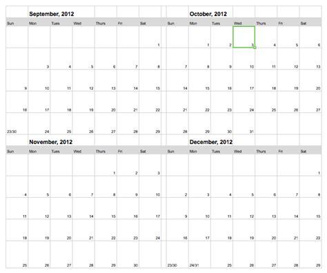 semester calendar template semester calendar template calendar template 2016