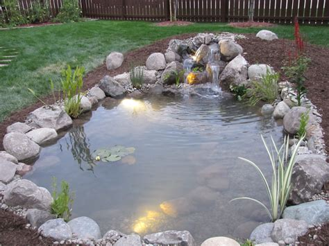 backyard ponds pondering waters l l c video image gallery proview