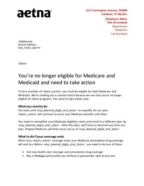 Benefit Eligibility Letter Sles