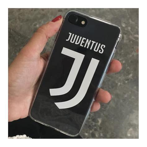 cover trasparente juve juventus nuovo logo  iphone gs