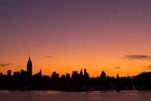 Nyc Duvet Cover New York City Skyline Sunrise Photograph By Stephanie Mcdowell