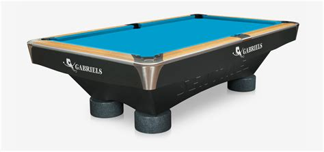 billiard table gabriels sentinel zebrano 9 ft pool