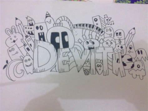 doodle tulisan doodle bukan sekedar menggambar oleh devitasari rsa