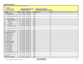 construction schedule template excel best photos of construction work plan template
