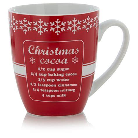 design own mug asda george home red cocoa mug cups mugs asda direct