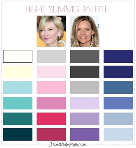 Light Summer Color Palette by 25 Best Ideas About Seasonal Color Analysis On