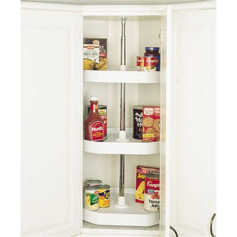 Kitchen Cupboard Rotating Shelf by Rev A Shelf Traditional Quot Independently Rotating D Shaped