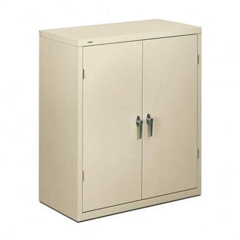 Metal Storage Cabinet With Lock Metal Locking Storage Cabinet 42 Inch Honsc1842 The Furniture Family