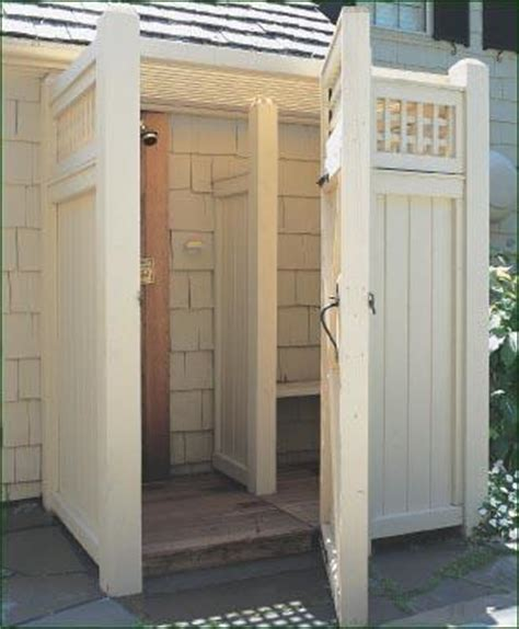 Outside Light Fixtures Lowes Custom Outdoor Shower Enclosure Wood Shower Enclosures
