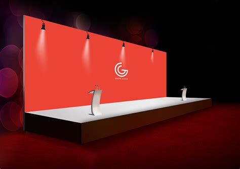 Free Ceremony Backdrop Banner Mockup Graphic Google Tasty Graphic Designs Collection Backdrop Banner Template