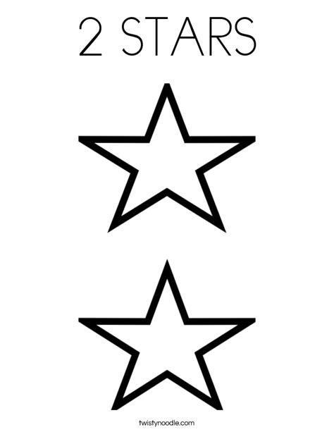 coloring page of star star s coloring pages
